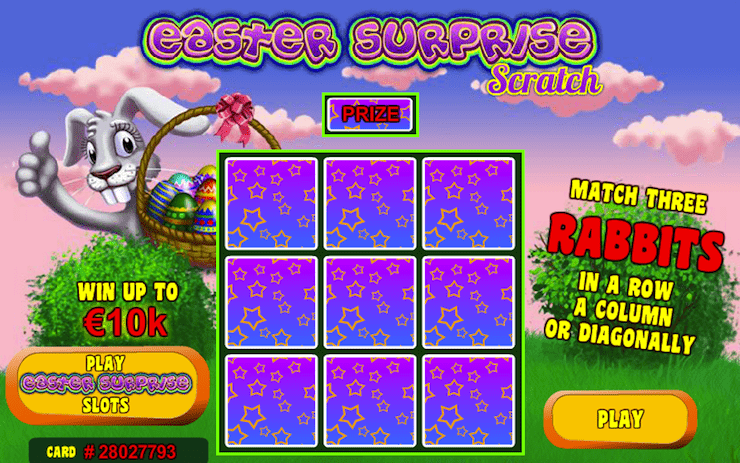 Играть в Easter Surprise Scratch в онлайн казино Еврогранд